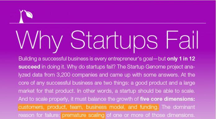 Avoid Failing When Running Your Startups
