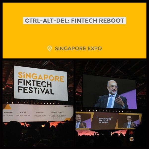 Singapore FinTech Festival 2016: CTRL-ALT-DEL: FINTECH REBOOT