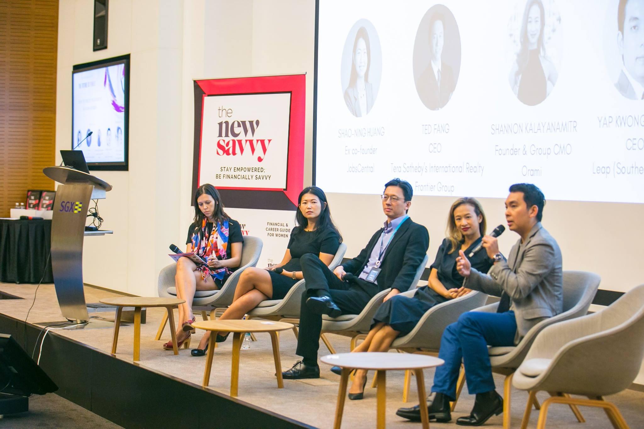 Shaoning Huang, Shannon Kalayanamitr, Ted Fang, Yap Kwong Weng, Grace Clapham