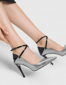 The New Savvy -Charles& Keith Criss Cross Ankle Strap Leather Heels 1