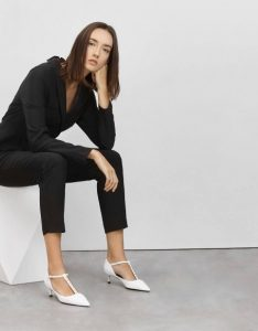 The New Savvy -Charles& Keith Embellished T-Bar Heels