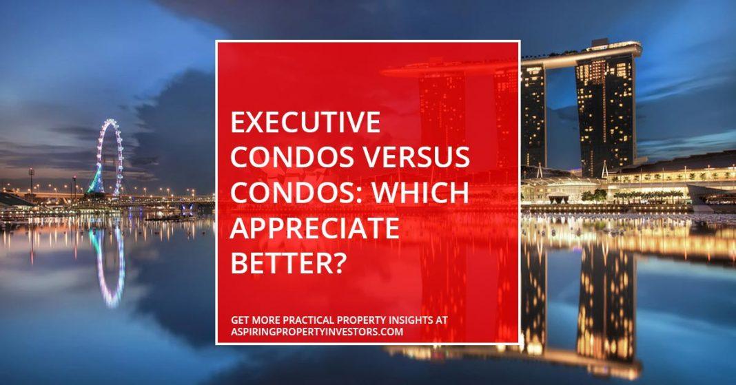Executive Condos Versus Condos: Which Appreciate Better?