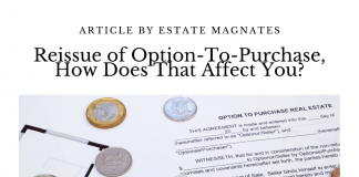 Reissue of Option-To-Purchase, How Does That Affect You?